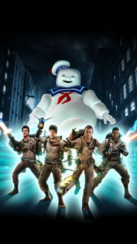Ghostbusters: The Video Game Remastered Mobiele Verticaal achtergrond