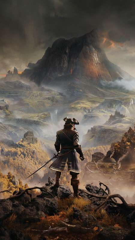 Greedfall Mobiele Verticaal achtergrond