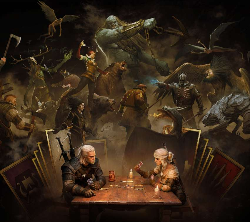 GWENT: The Witcher Card Game Mobiele Horizontaal achtergrond
