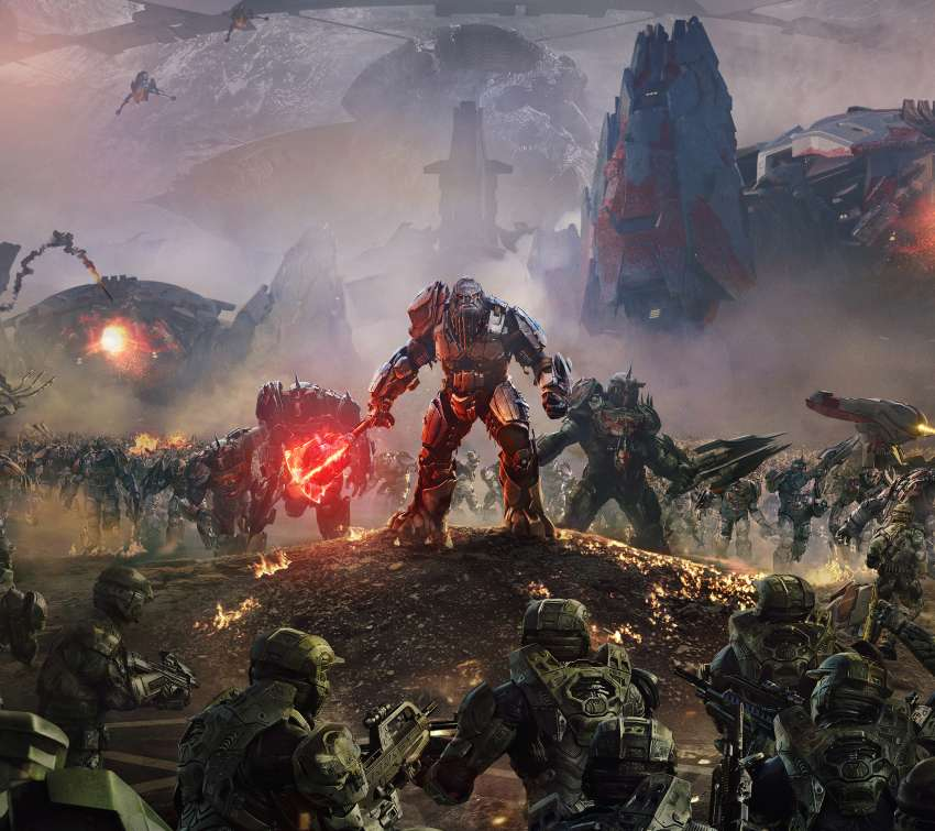 Halo Wars 2 Mobiele Horizontaal achtergrond