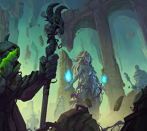 Hearthstone: Ashes of Outland Mobiele Horizontaal achtergrond