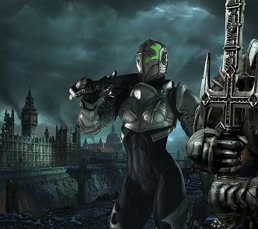Hellgate: London Mobiele Horizontaal achtergrond