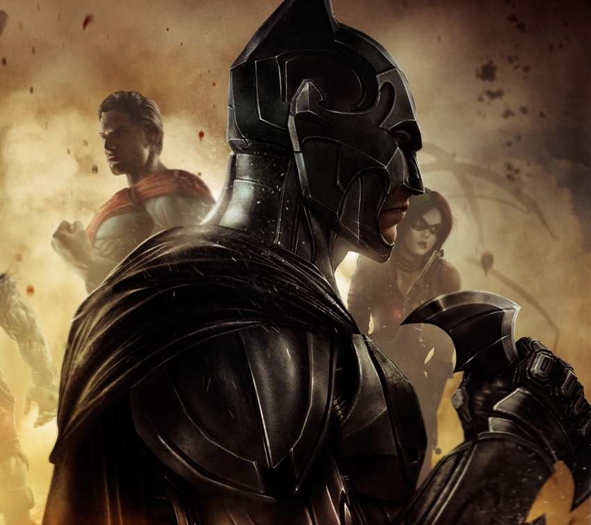 Injustice: Gods Among Us achtergrond