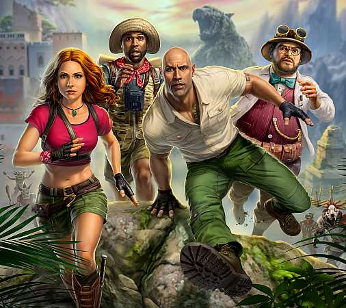 Jumanji: The Video Game Mobiele Horizontaal achtergrond