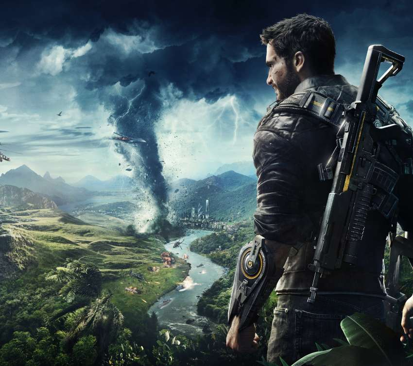 Just Cause 4 Mobiele Horizontaal achtergrond