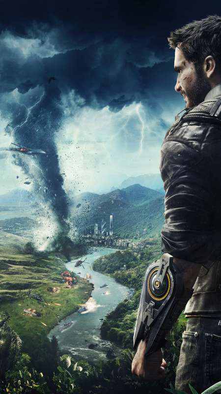 Just Cause 4 Mobiele Verticaal achtergrond