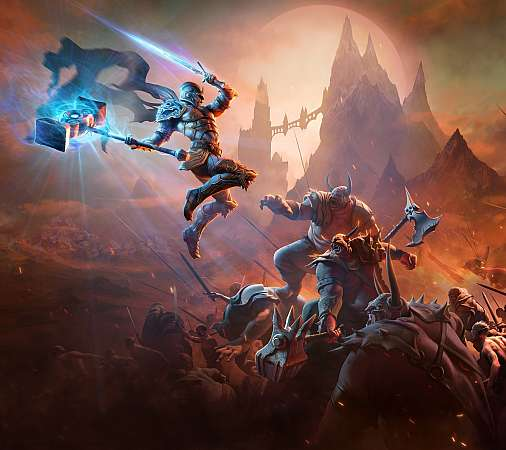 Kingdoms of Amalur: Re-Reckoning Mobiele Horizontaal achtergrond