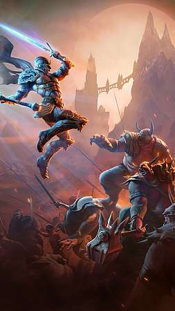 Kingdoms of Amalur: Re-Reckoning Mobiele Verticaal achtergrond