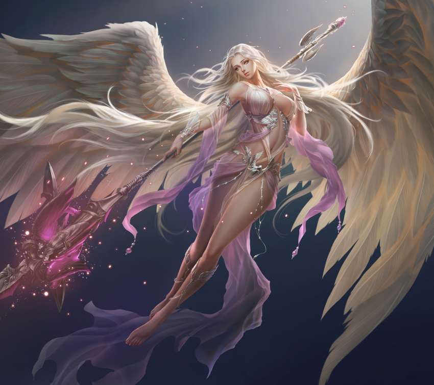 League of Angels 2 Mobiele Horizontaal achtergrond