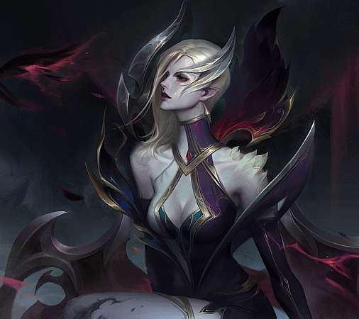 League of Legends fan art Mobiele Horizontaal achtergrond