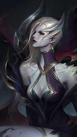 League of Legends fan art Mobiele Verticaal achtergrond