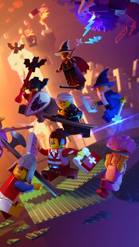LEGO Legacy: Heroes Unboxed Mobiele Verticaal achtergrond