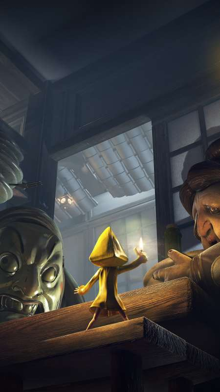 Little Nightmares Complete Edition Mobiele Verticaal achtergrond