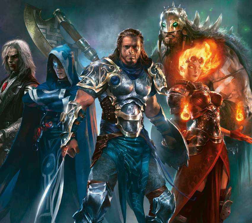 Magic: The Gathering - Duels of the Planeswalkers Mobiele Horizontaal achtergrond