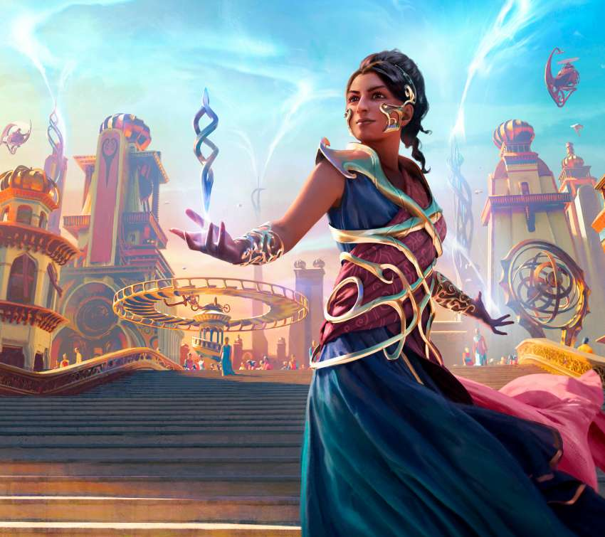 Magic: The Gathering Arena Mobiele Horizontaal achtergrond