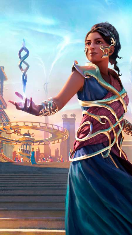 Magic: The Gathering Arena Mobiele Verticaal achtergrond