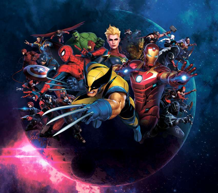 Marvel Ultimate Alliance 3: The Black Order Mobiele Horizontaal achtergrond