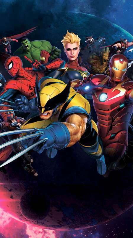 Marvel Ultimate Alliance 3: The Black Order Mobiele Verticaal achtergrond