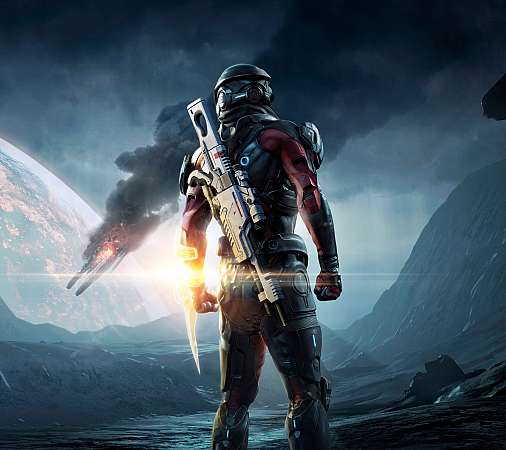 Mass Effect: Andromeda Mobiele Horizontaal achtergrond
