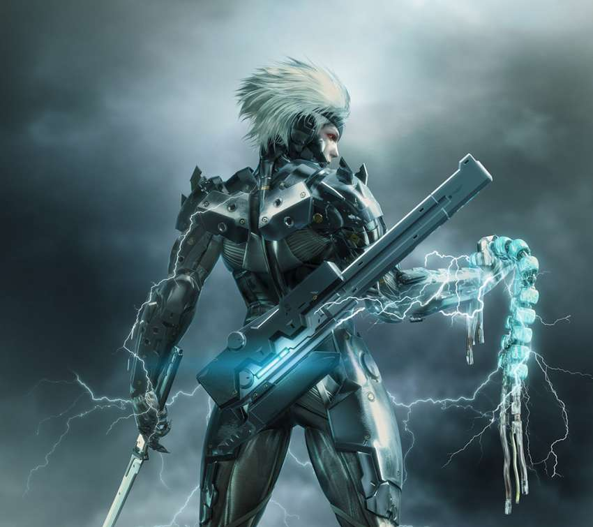 Metal Gear Rising: Revengeance Mobiele Horizontaal achtergrond
