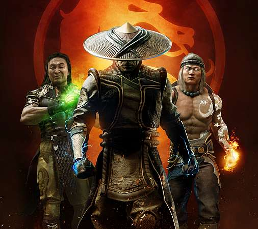 Mortal Kombat 11 Aftermath Mobiele Horizontaal achtergrond