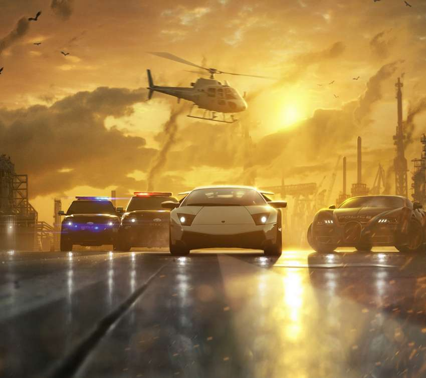 Need for Speed - Most Wanted achtergrond