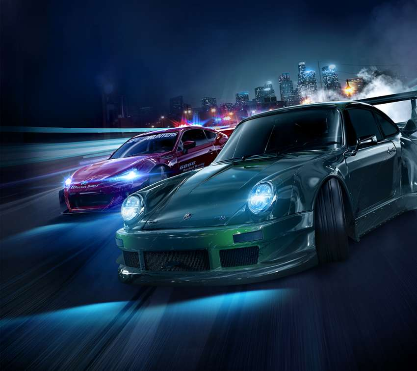 Need for Speed Mobiele Horizontaal achtergrond