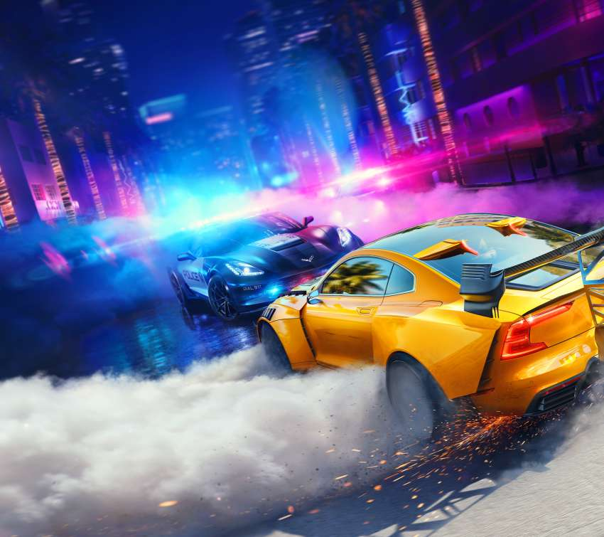 Need for Speed: Heat Mobiele Horizontaal achtergrond