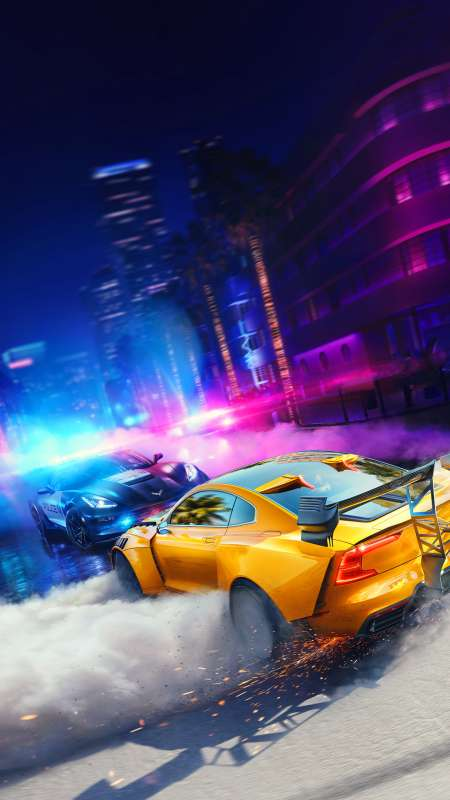 Need for Speed: Heat Mobiele Verticaal achtergrond