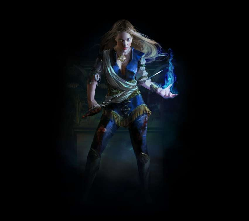 Path of Exile: The Fall of Oriath Mobiele Horizontaal achtergrond