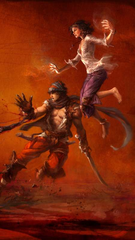 Prince of Persia Mobiele Verticaal achtergrond