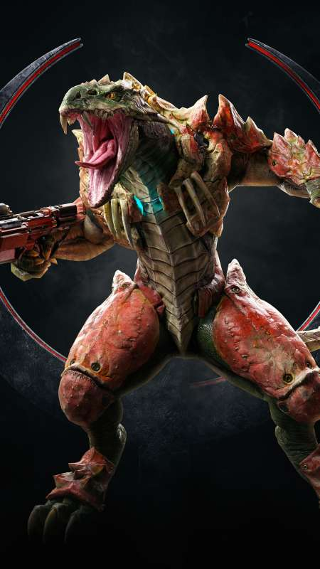 Quake Champions Mobiele Verticaal achtergrond