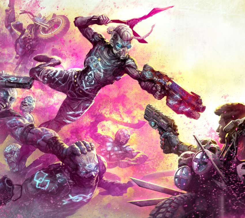 Rage 2: Rise of the Ghosts Mobiele Horizontaal achtergrond