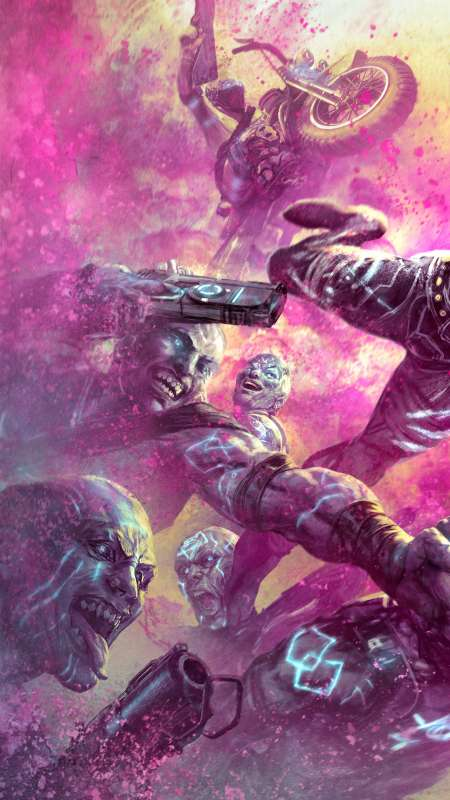 Rage 2: Rise of the Ghosts Mobiele Verticaal achtergrond