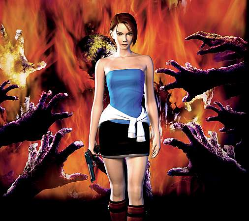 Resident Evil 3 Mobiele Horizontaal achtergrond