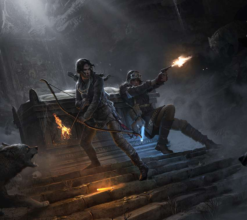 Rise of the Tomb Raider: 20 Year Celebration achtergrond