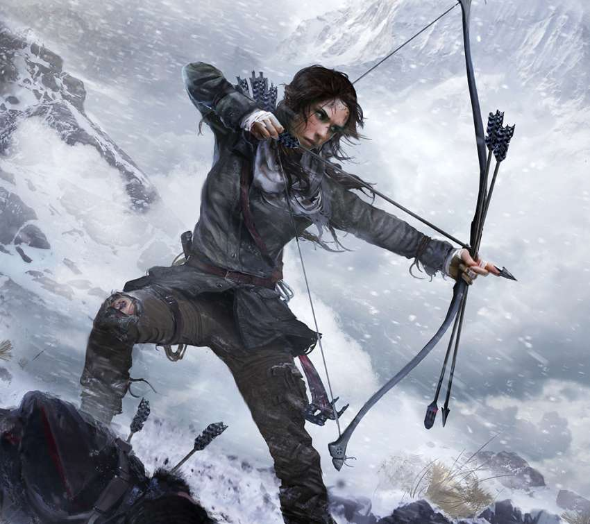 Rise of the Tomb Raider achtergrond