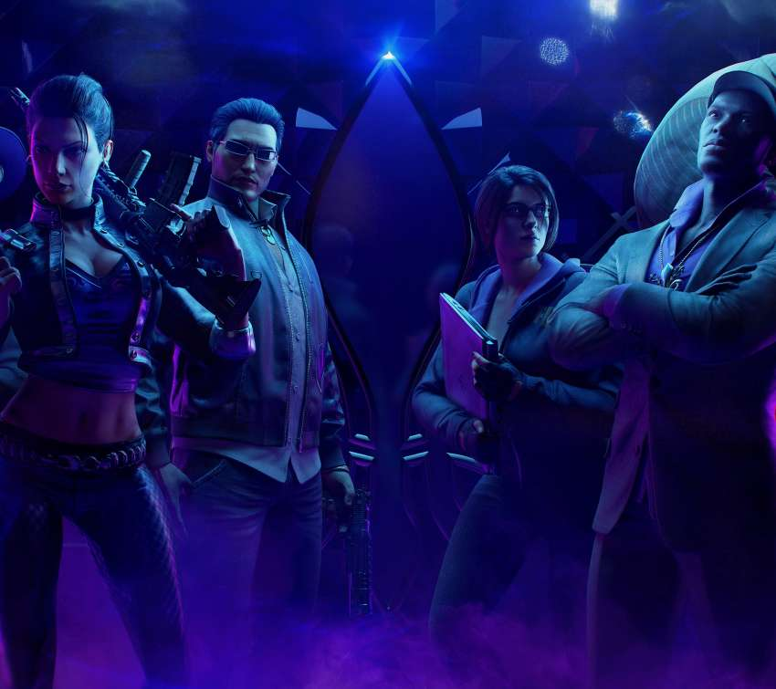 Saints Row: The Third Remastered Mobiele Horizontaal achtergrond