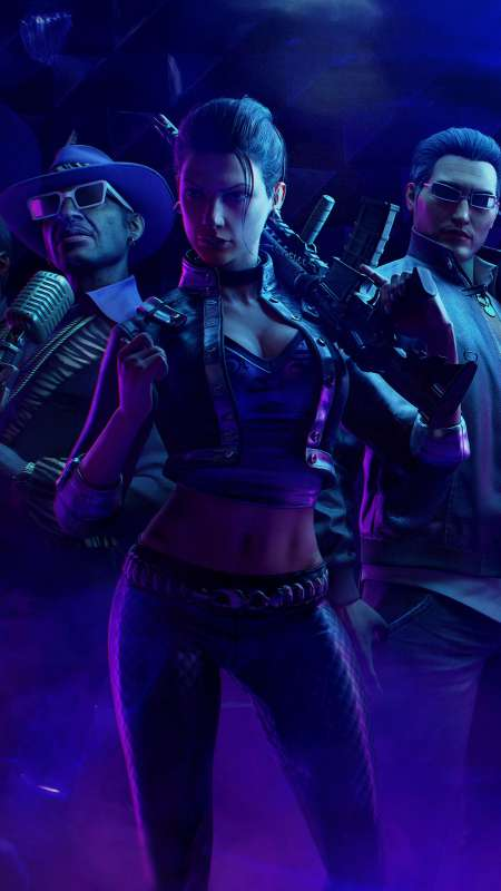 Saints Row: The Third Remastered Mobiele Verticaal achtergrond