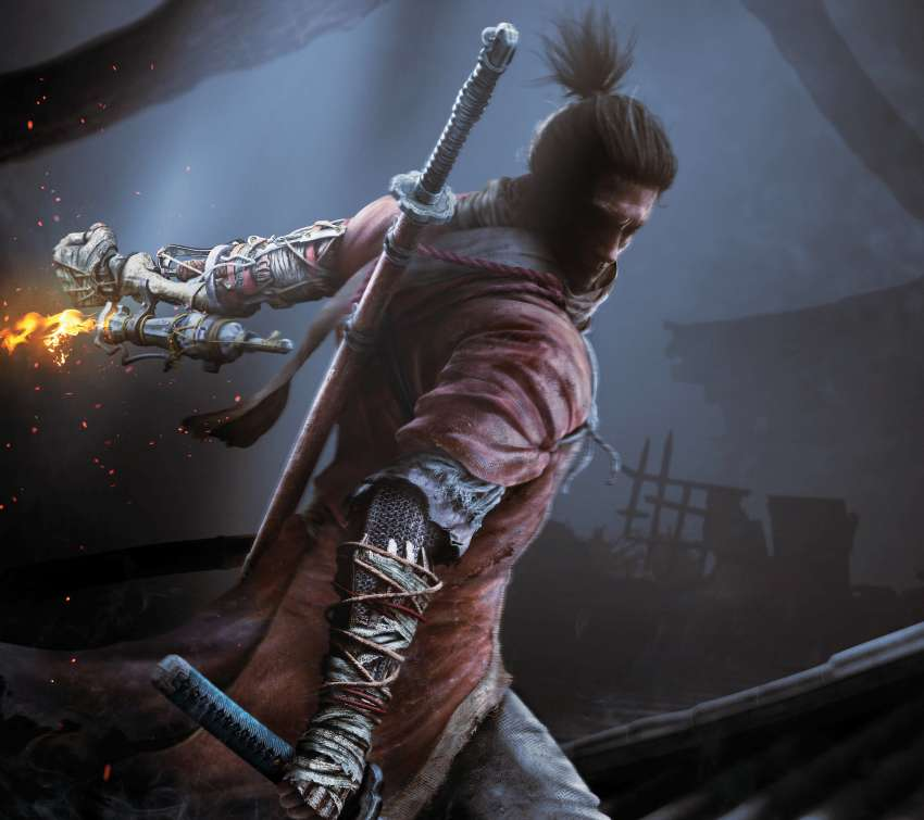 Sekiro: Shadows Die Twice Mobiele Horizontaal achtergrond