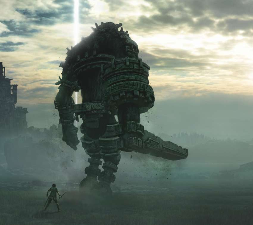 Shadow of the Colossus Mobiele Horizontaal achtergrond