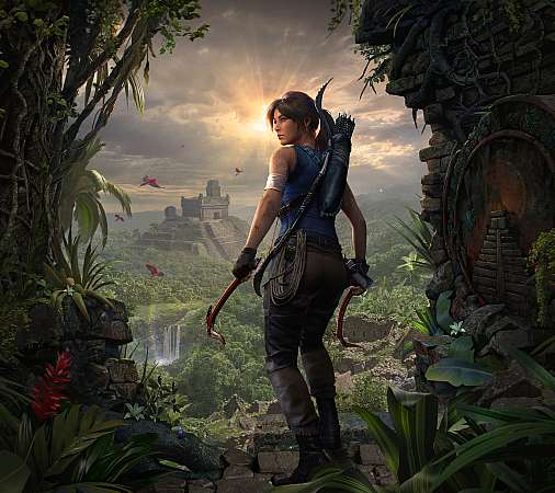 Shadow of the Tomb Raider Mobiele Horizontaal achtergrond