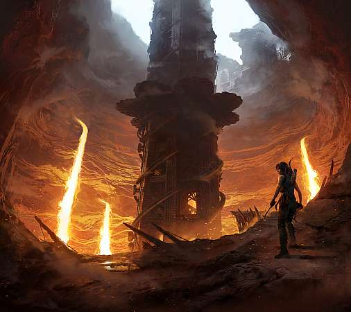 Shadow of the Tomb Raider: The Forge Mobiele Horizontaal achtergrond