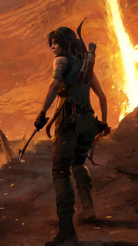 Shadow of the Tomb Raider: The Forge Mobiele Verticaal achtergrond