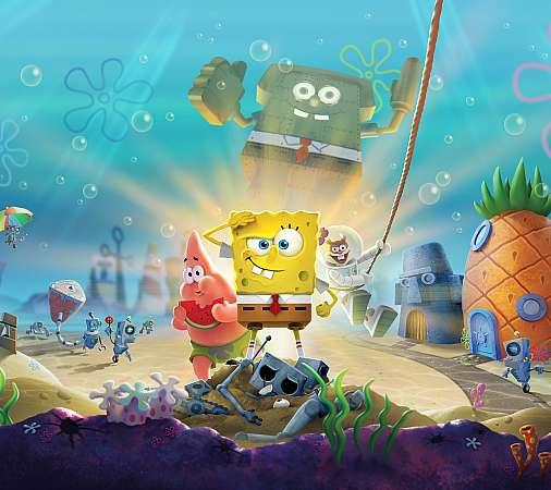 SpongeBob SquarePants: Battle for Bikini Bottom - Rehydrated Mobiele Horizontaal achtergrond