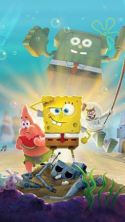 SpongeBob SquarePants: Battle for Bikini Bottom - Rehydrated Mobiele Verticaal achtergrond