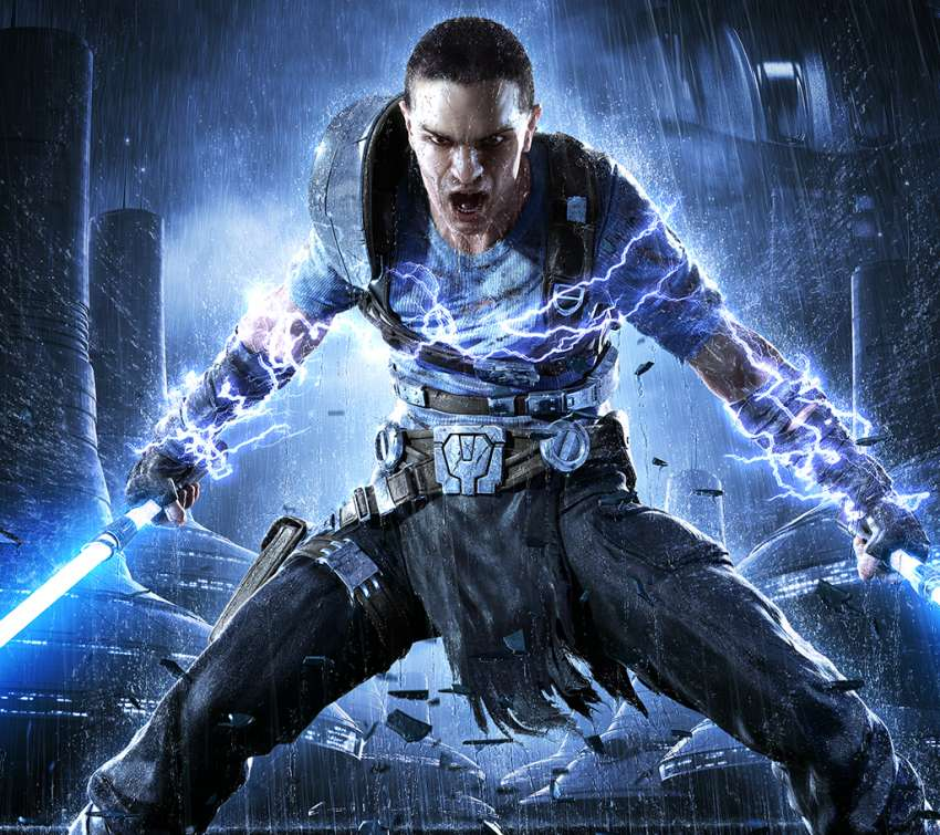 Star Wars: The Force Unleashed 2 Mobiele Horizontaal achtergrond