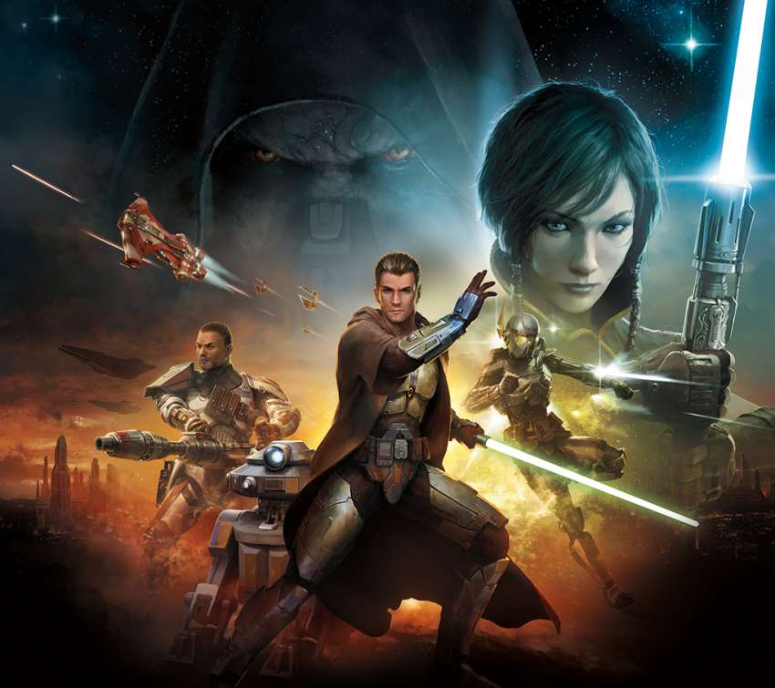 Star Wars: The Old Republic achtergrond