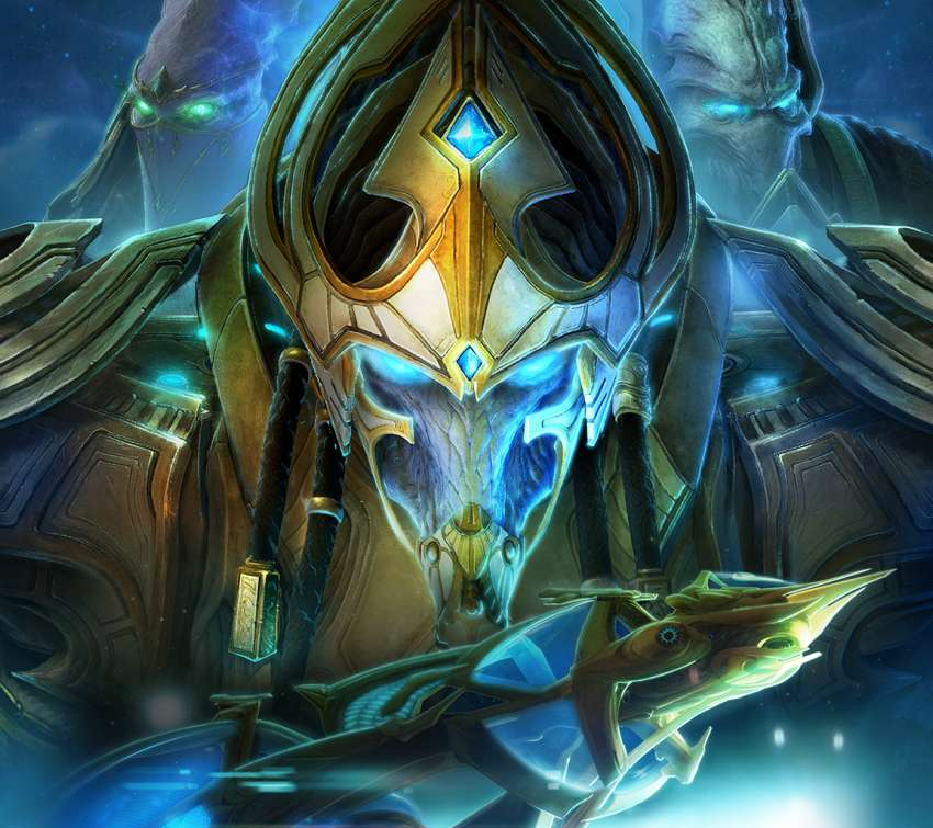 StarCraft 2: Legacy of the Void achtergrond