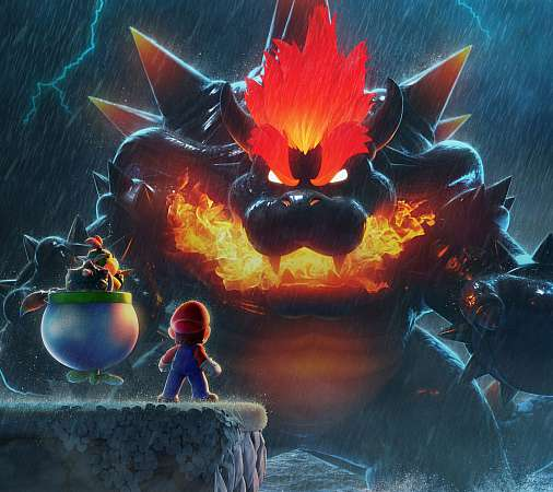 Super Mario 3D World: Bowser's Fury Mobiele Horizontaal achtergrond